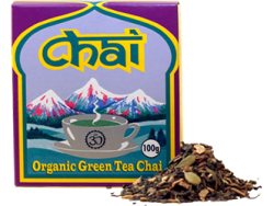 Organic Green Tea Chai 100g