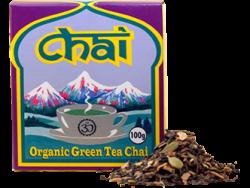 Organic Green Tea Chai 100g