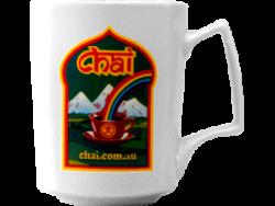Chai Mug Green Logo