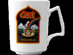 Chai Mug Black Logo