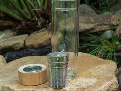 Tea Bottle Glass