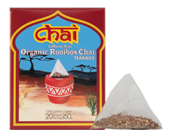 Organic Rooibos Chai Tea Bag 20