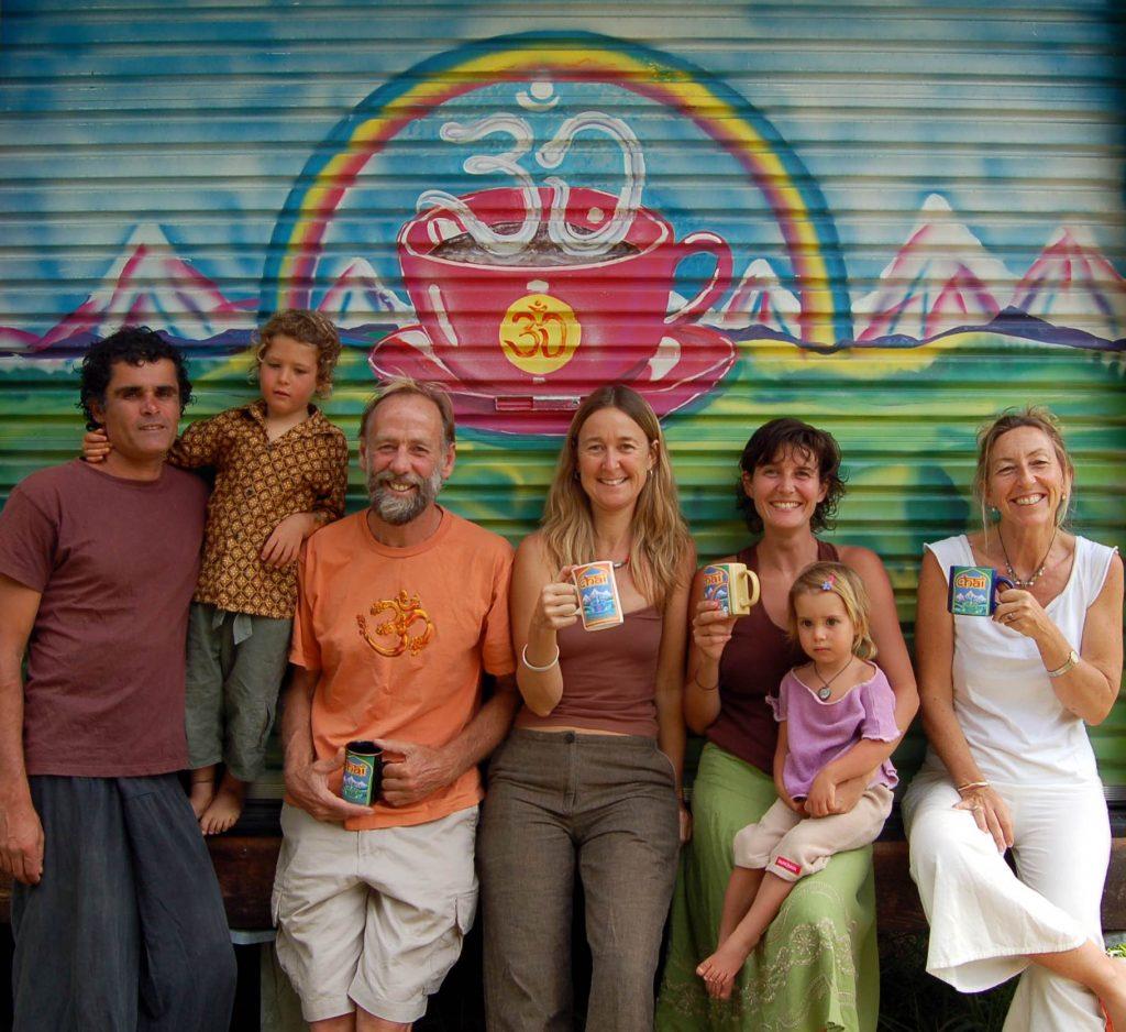 Rainbow Chai family June 2006